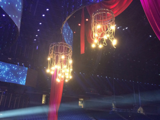Rope Chandelier Junos Show