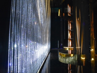 Beaded Drape Glass Beads