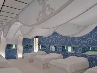 Big Brother Spandex Bedroom Ceiling Waves