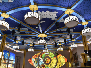 Big Brother Spandex Ceiling