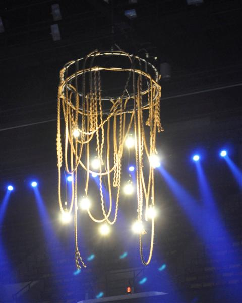 Rope Chandelier Junos