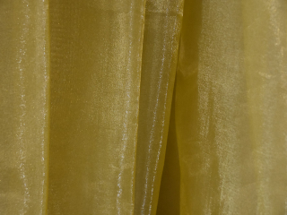 Specialty Fabric Organza Gold