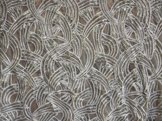 Specialty Fabric Twisted Sequin