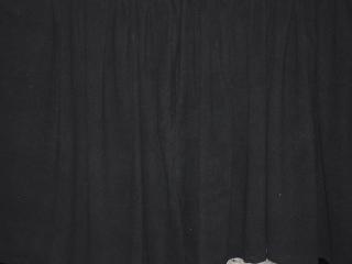 Velour Fabric Black