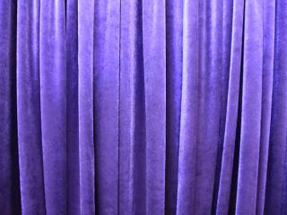 Velour Fabric Fuchsia