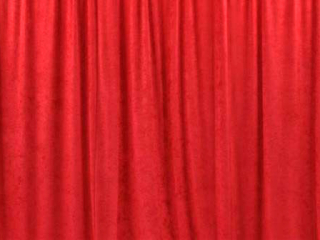 Velour Fabric Red