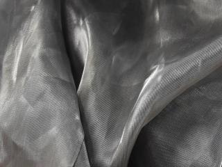 Waterfall Fabric Pewter Black